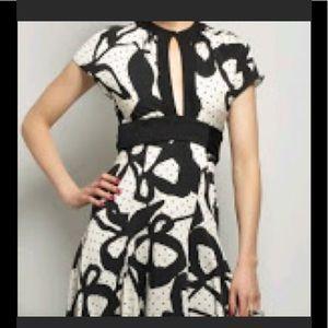 Diane Von Furstenberg wrap Spanish Night dress 8